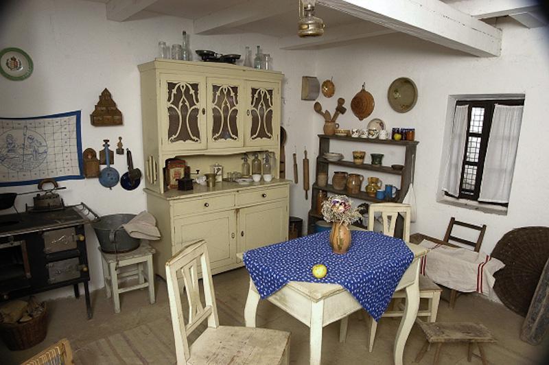 A Tabáni tájház konyhája, Kozma Károly felvétele