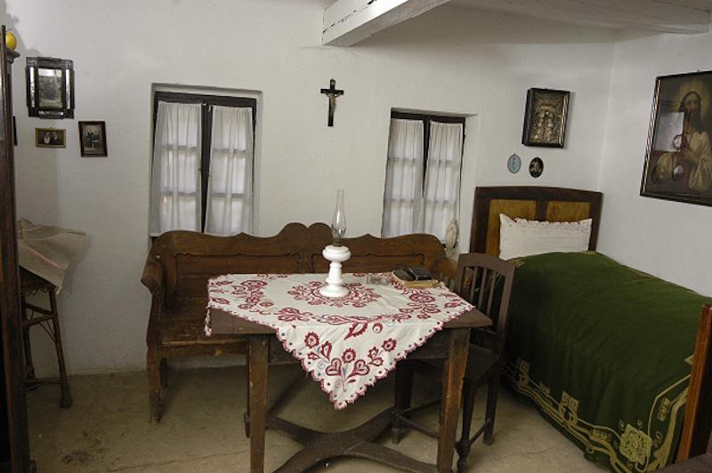 Tabáni tájház szobája, Kozma Károly felvétele